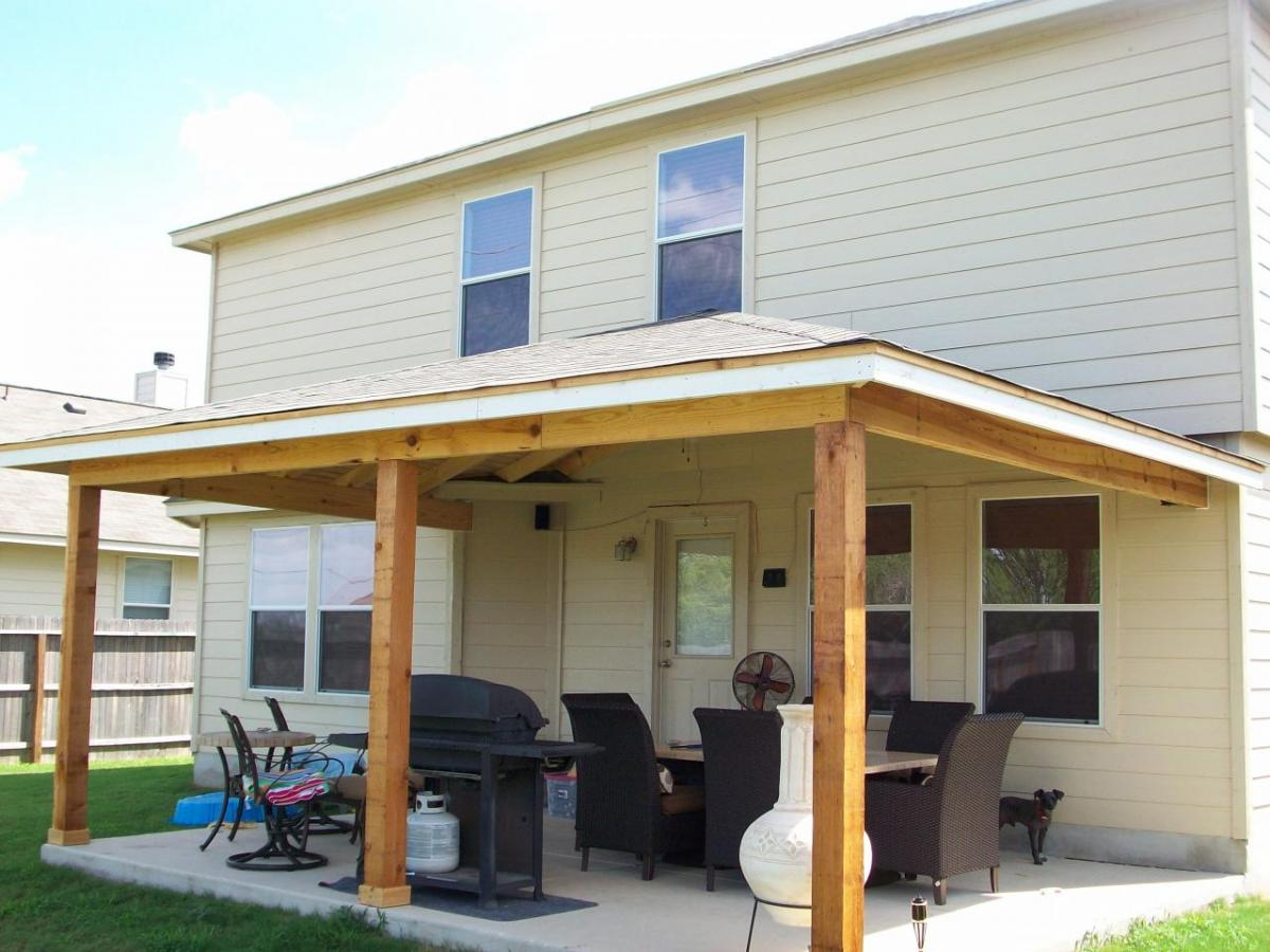 How To Build A Porch Roof With Your Own Hands