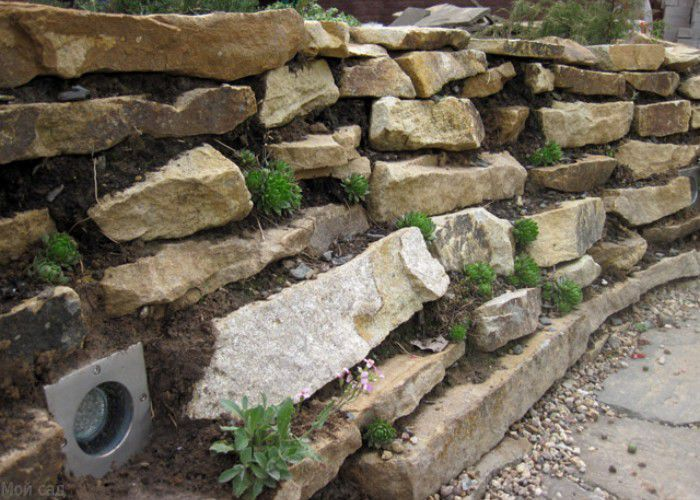 Building A Stone Retaining Wall On A Slope Mycoffeepot Org