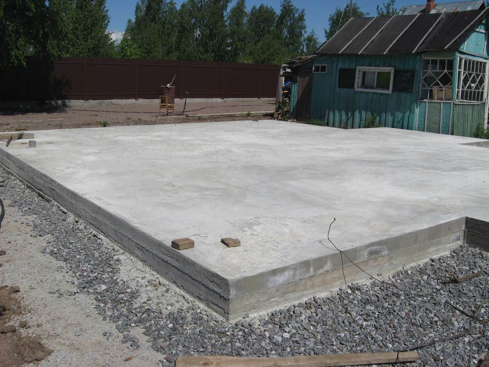 Build A Slab Foundation Or Repair