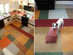 Eco-friendly flooring Marmoleum