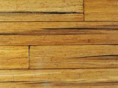 Cracking bamboo floor