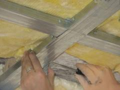 How to insulate a ceiling yourself