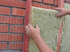 Insulation with ecowool