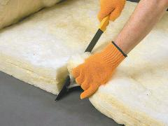 Insulation made of fiberglass