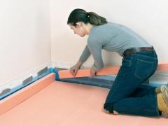 How to install floor insulation