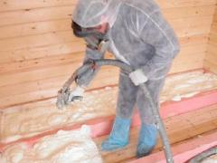 How to insulate the floor with polyurethane foam