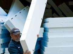 How to install foam board insulation