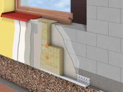 External home insulation foam