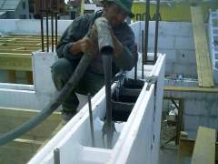 Special formwork made of PVC