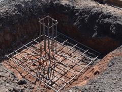 Reinforcement of pier foundation
