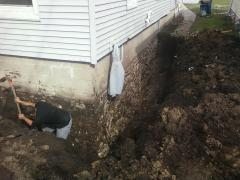 Prepare the Foundation for waterproofing