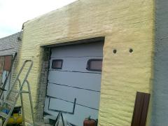 How to insulate a garage outside