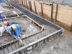 Concreting of pile cap