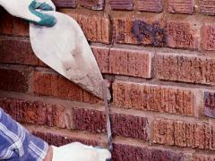 How to build a brick wall step by step