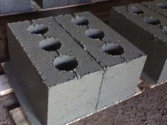 Building blocks of slag concrete