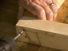 How to build a door frame exterior