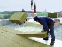 Insulation of flat roof