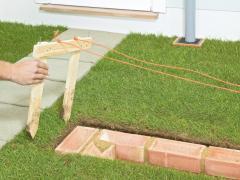 How to build a brick garden wall
