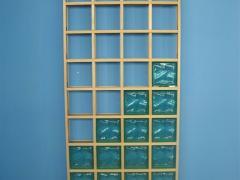 Module for glass blocks