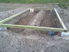 The Foundation for greenhouses