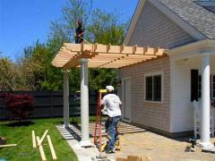 How to build a porch roof