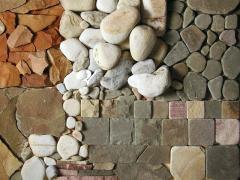 Decorative stone masonry