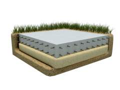 How is a slab Foundation