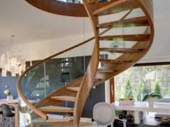 Spiral staircase made by hand