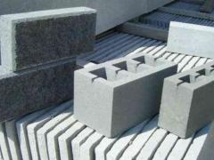 Building blocks made of Sandstone