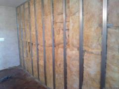 Quality sound insulation temporary wall
