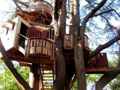 The original design of the tree house