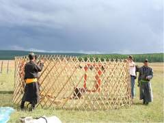 How to build a yurt from scratch