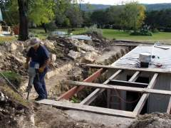 How to build an underground house