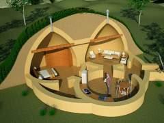 The plan of underground houses