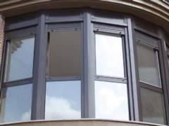 Window profile anodized aluminum
