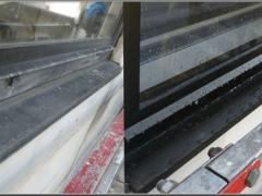 How to clean aluminium window frames properly