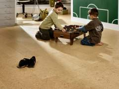 Luxurious look of cork flooring with proper care