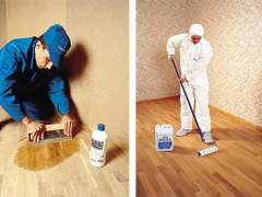 Applying technology tools for the care of parquet floors