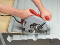 How to cut metal roofing with circular saw