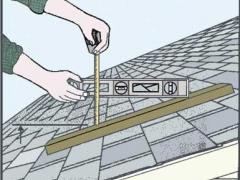 Measure the roof area