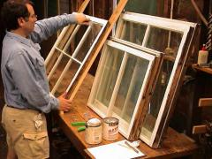 How to glaze a window