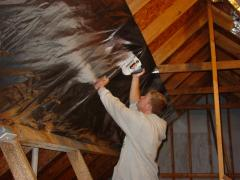 How to install insulation in attic