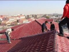 How to install clay tile roof