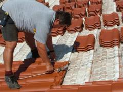 How to make clay roof tiles