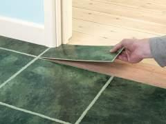 How to install vinyl floor tiles