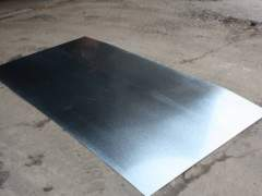 Galvanized steel sheet before painting