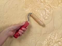 Paint paintable Wallpaper roller