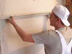 How to plaster a brick wall
