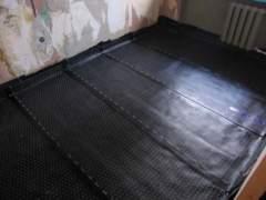 Waterproofing of the wooden floor