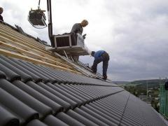 How to remove roof tiles